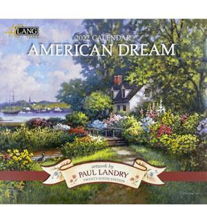2022年LANG社カレンダー AMERICAN DREAM 2299-1001890 abc-craft