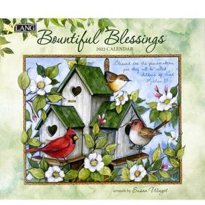 2022年LANG社カレンダー BOUNTIFUL BLESSINGS 2299-1001897 abc-craft