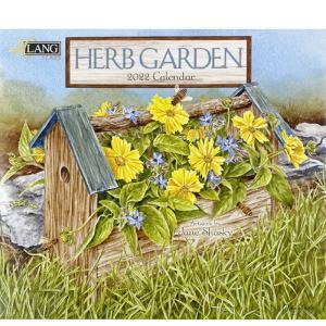 2022年LANG社カレンダー HERB GARDEN 2299-1001914 abc-craft