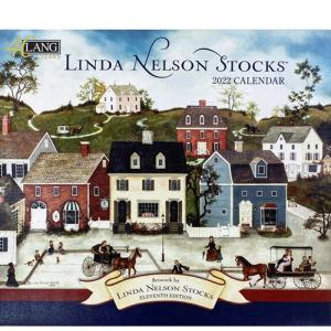 2022年LANG社カレンダー LINDA NELSON STOCKS 2299-1001924 abc-craft