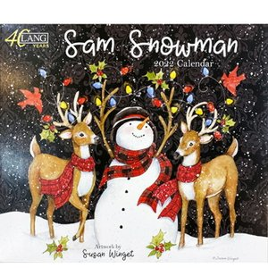 2022年LANG社カレンダー SAM SNOWMAN 2299-1001939 abc-craft