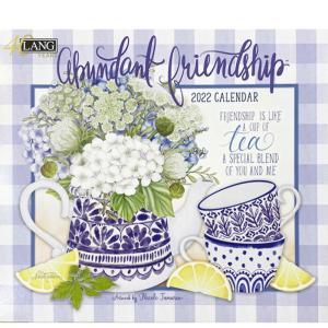 2022年LANG社カレンダー ABUNDANT FRIENDSHIP 2299-1002005 abc-craft