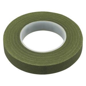 フローラ フラワーテープ 幅12.5mm モスグリーン メール便/宅配便可  ftape-mg|abc-craft