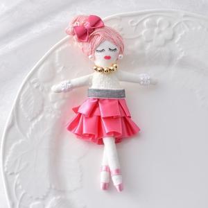 タカギ繊維 人形用ドレスキット ピンク メール便/宅配便可  nb-10|abc-craft