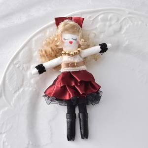 タカギ繊維 人形用ドレスキット ブラウン メール便/宅配便可  nb-11|abc-craft