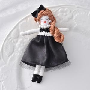 タカギ繊維 人形用ドレスキット ブラック メール便/宅配便可  nb-16|abc-craft