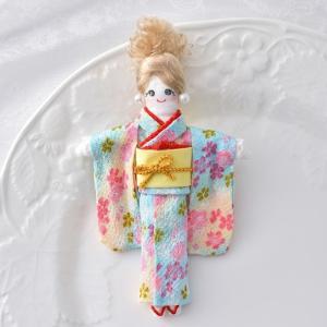 タカギ繊維 人形用ドレスキット 着物 メール便/宅配便可  nb-17|abc-craft