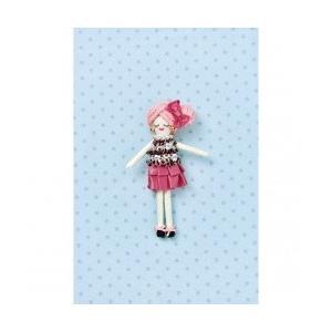 タカギ繊維 人形用ドレスキットパートII ブラックピンク メール便/宅配便可  nb-18|abc-craft