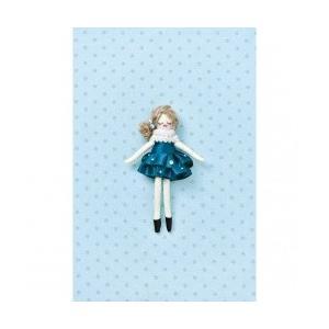 タカギ繊維 人形用ドレスキットパートII ブルー メール便/宅配便可  nb-21|abc-craft