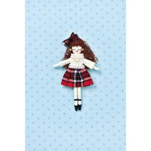 タカギ繊維 人形用ドレスキットパートII チェック メール便/宅配便可  nb-22|abc-craft