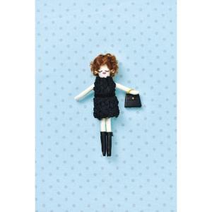 タカギ繊維 人形用ドレスキットパートII ニット メール便/宅配便可  nb-23|abc-craft