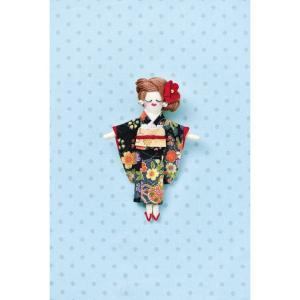 タカギ繊維 人形用ドレスキットパートII 着物2 メール便/宅配便可  nb-25|abc-craft