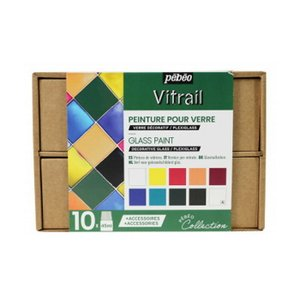 ヴィトラーユ アトリエコレクション 9色+メディウム+アクセサリー  pebe-758421 abc-craft