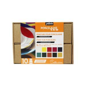 ポーセレン 150 アトリエコレクション 10色+アクセサリー pebe-758471 abc-craft