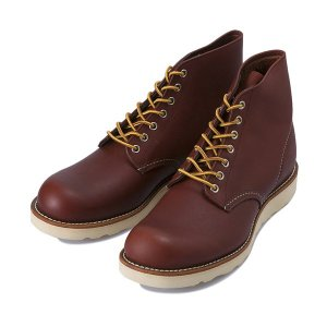 【RED WING】 レッドウィング PLAIN TOE プレーントゥ 9105 RED_BROWN|abc-martnet