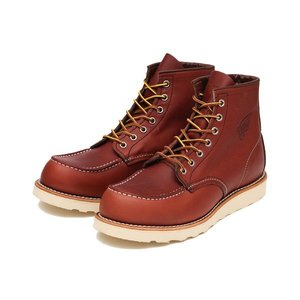 RED WING レッドウィング 6'CLASSIC MOC 6'クラシック モック 9106 RED BROWN|ABC-MART PayPayモール店