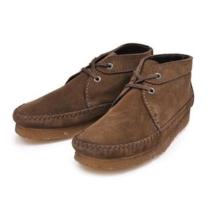 【CLARKS】クラークス WEAVER BOOT ウィーバーブーツ 75552 BROWN SUEDE|abc-martnet