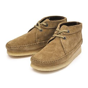 【CLARKS】クラークス WEAVER BOOT ウィーバーブーツ 75558 OAKWOOD SUEDE|abc-martnet