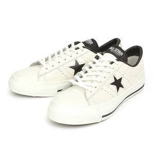 ≪日本製≫ 【CONVERSE】 コンバース ONE STAR J ワンスター J WHITE/BLACK|abc-martnet