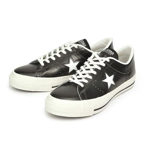 [日本製] 【converse】 コンバース ONE STAR J ワンスター J BLACK/WHITE|abc-martnet
