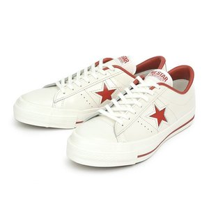 ≪日本製≫ 【CONVERSE】 コンバース ONE STAR J ワンスター J WHITE/RED|abc-martnet