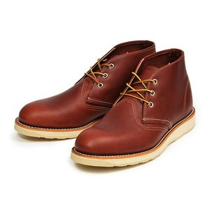 【RED WING】 レッドウィング CLASSIC CHUKKA クラシック チャッカ 3139 ABC-MART限定 RED BROWN|abc-martnet
