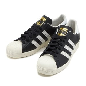 【adidas】 アディダス SS 80s スーパースター 80s G61069 F12 BLK/WHT/CHALK2|abc-martnet