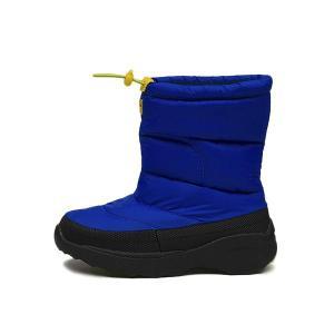 キッズ 【HAWKINS】 ホーキンス スノーブーツタイプ 冬靴 SNOW BOOTS HK51089 F14 BLUE|abc-martnet