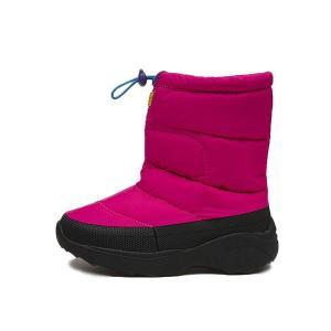 キッズ 【HAWKINS】 ホーキンス スノーブーツタイプ 冬靴 SNOW BOOTS HK51089 F14 PINK|abc-martnet