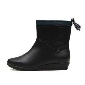 【NUOVO】 ヌオーヴォ バックテープレインブーツ 長靴 NC20014 B-TAPE RAIN 3 ヒール3cm BLACK|abc-martnet