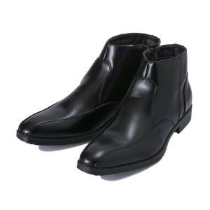 【stefanorossi】 ステファノロッシ SIDE ZIP BOOTS サイドジップブーツ SR09004 BLACK abc-martnet