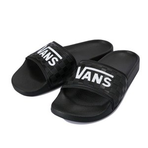 【VANS】 ヴァンズ サンダル OVERS V7588 BLACK/WHITE