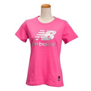 レディース 【NEW BALANCEウェア】 ニューバランス コアショートスリーブ Tシャツ AWT61636PFL 16SS PFL(ピンクフラミンゴ) abc-martnet