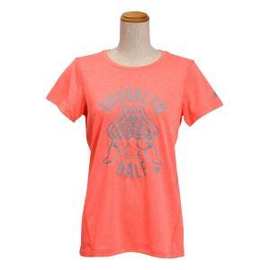 レディース 【NEW BALANCEウェア】 ニューバランス ヘザーショートスリーブ Tシャツ(グラフィックBH) JWTP6051DFH 16SS DFH(ドラゴンフライ) abc-martnet