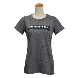 レディース 【NEW BALANCEウェア】 ニューバランス ヘザーショートスリーブ Tシャツ(グラフィック) JWTP6052BKH 16SS BKH(ブラックヘザー) abc-martnet