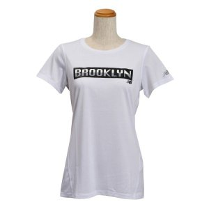 レディース 【NEW BALANCEウェア】 ニューバランス ヘザーショートスリーブ Tシャツ(グラフィック) JWTP6052WT 16SS WT(ホワイト) abc-martnet