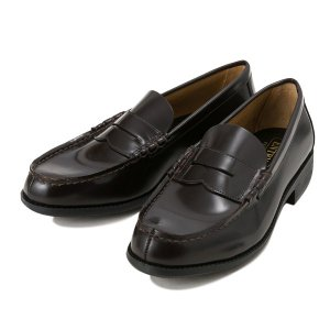 【HAWKINS】 ホーキンス レザー ローファー LEATHER LOAFER2 HB60100 DK.BROWN|abc-martnet