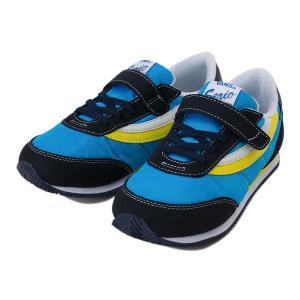ヴァンズ スニーカー キッズ VANS SERIO セリオ V2030KS 17SP NAVY/BLUE|abc-martnet