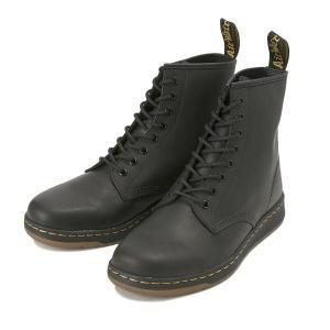 【AIRWAIR】 ドクターマーチン NEWTON 8 EYE BOOT ニュートン8アイ ブーツ 21856001 BLACK abc-martnet