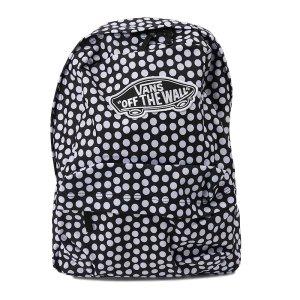 ヴァンズ リュック VANSアパレル バッグ WM REALM BACKPACK VN000NZ0M9A OVERSIZE DOTS|abc-martnet