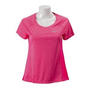 ナイキ Tシャツ NIKEウェア W DF マイラーSSクルートップ 831531-618 618PINK/HTR|abc-martnet