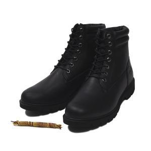 【Timberland】 ティンバーランド YOUTH 6 INCH BASIC BOOT ユース 6インチ ベーシック ブーツ A1OT6 *BLACK 17FA|abc-martnet