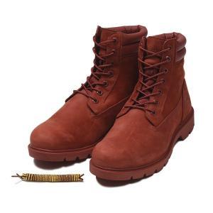 【Timberland】 ティンバーランド YOUTH 6 INCH BASIC BOOT ユース 6インチ ベーシック ブーツ A1OTD *RED 17FA|abc-martnet