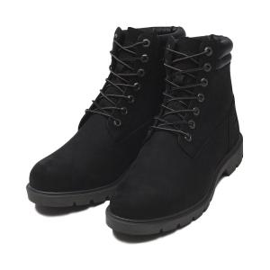 【Timberland】 ティンバーランド YOUTH 6 INCH BASIC BOOT ユース 6インチ ベーシック ブーツ A1ODY *BLACK 17FA|abc-martnet