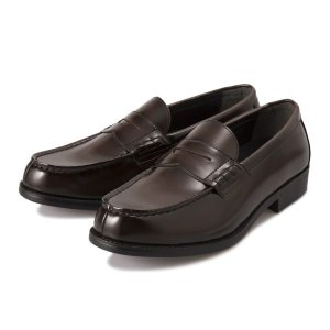 【HAWKINS】 ホーキンス 洗えるローファー SYN LOAFER HB60020 DK.BROWN|abc-martnet
