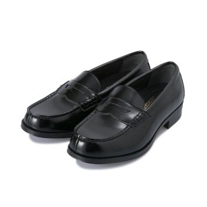 【HAWKINS】 ホーキンス 洗えるローファー WS LOAFERS PU HW10112 BLACK|abc-martnet