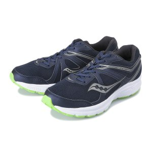 【SAUCONY】 サッカニー COHESION 11(WIDE) コヒージョン S20421-1 NAVY/SLIME|abc-martnet