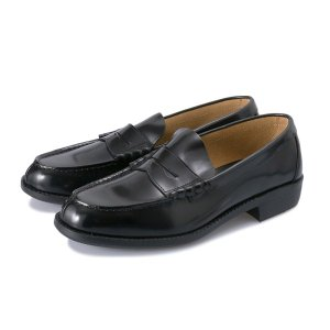 【HAWKINS】 ホーキンス LEATHER LOAFER3 レザーローファー HB60030 BLACK|abc-martnet