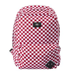 ヴァンズ リュック VANSアパレル OLD SKOOL II BACKPACK VN000ONIRLM RED-WHITE CHECK|abc-martnet