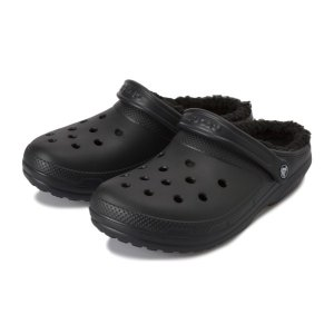 【crocs】 クロックス classic lined clog クラシックラインドクロッグ 203591-0EX black/black abc-martnet